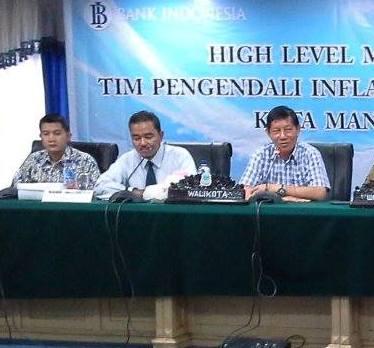 Penyumbang Terbesar Inflasi Manado, GSVL Gerakan PNS Pemkot Tanam Cabe