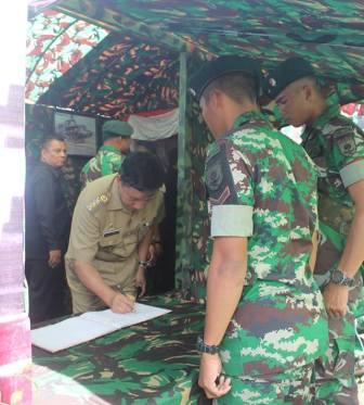 Ribuan Siswa Padati Pameran Alutsista TNI AD di Manado