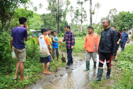 Pantau Lokasi Rawan Banjir dan Longsor, Walikota Manado Sisir Perbukitan Buha