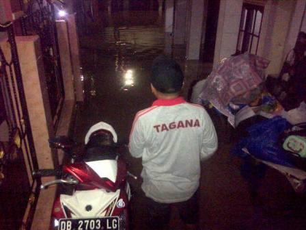 DAS Tondano Meluap Sejumlah Wilayah Terendam Banjir