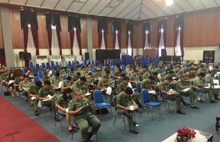 200 Lebih Calon Lurah di Kota Manado Ikuti Tes