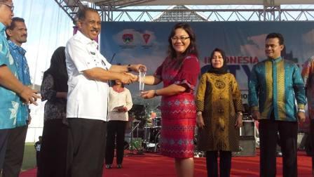 Pameran City Expo 2015, Stand Pemkot Manado Juara I