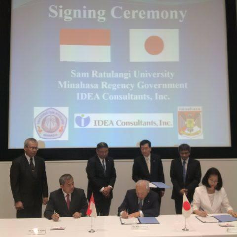Kelola Danau Tondano, JWS Gandang Unsrat Kerjasama Dengan Jepang