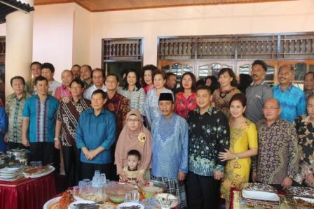 Vicky Lumentut Pimpin Safari Idul Fitri Pemkot Manado