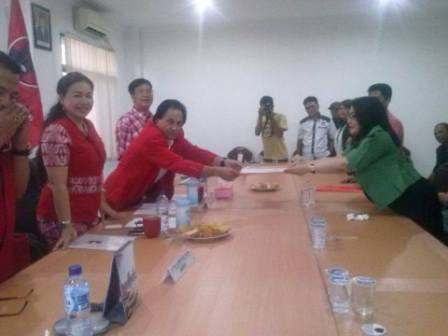 Rindu Bangun Nyiur Melambai, Ketua PKB Sulut Penuhi Undangan PDIP
