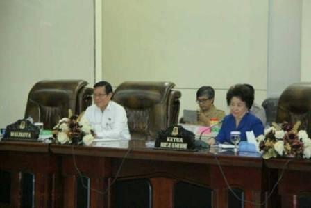 Walikota Manado Berikan Apresiasi Untuk DPRD Kota Manado