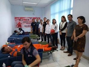 Donor darah, PMI Minsel