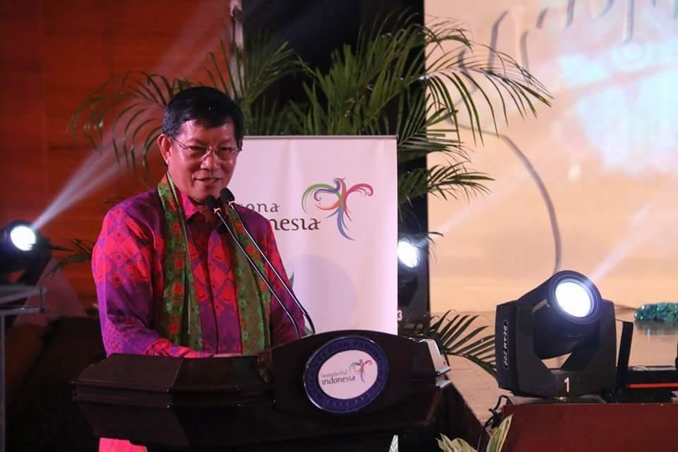 Launching Calender of Event Pesona Wisata Manado 2017, GSVL Puji OD Dihadapan Menteri Pariwisata