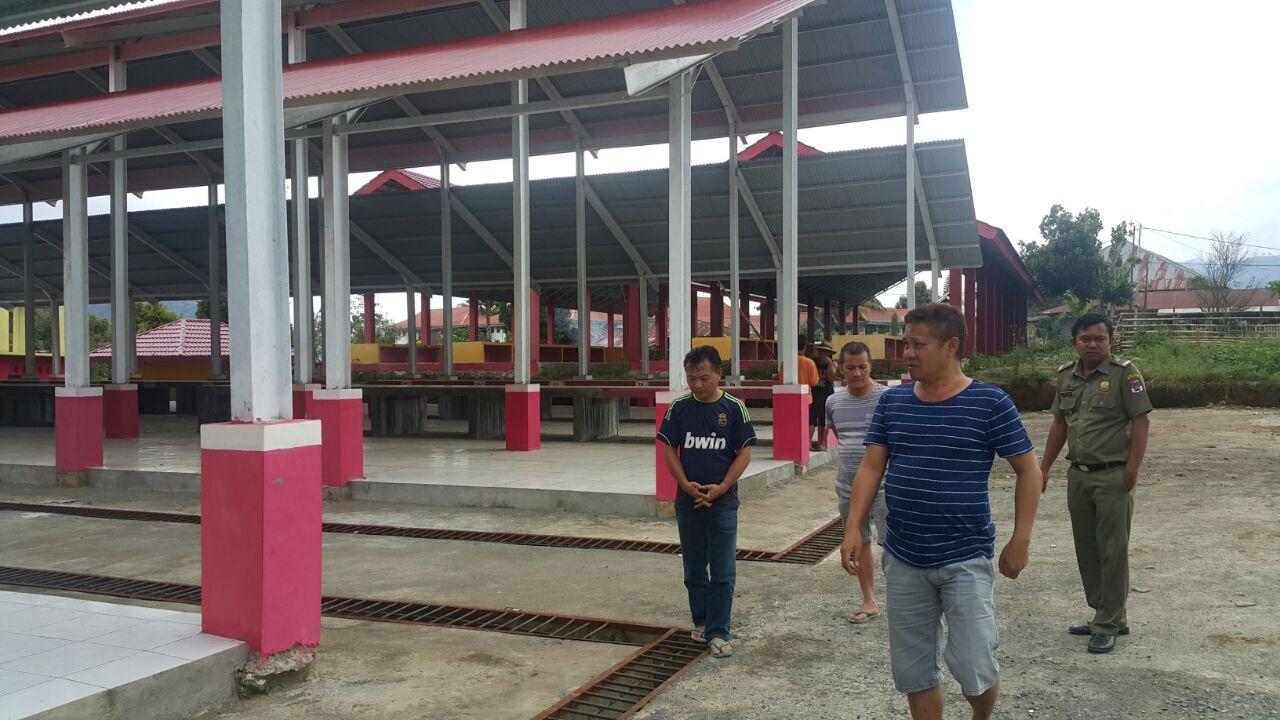 Pedagang Lama Jadi Prioritas Tempati Pasar Rakyat Modoinding