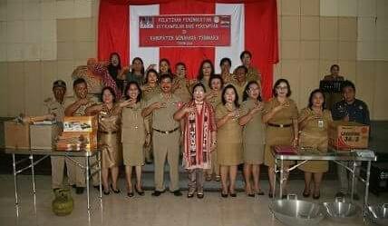 Mitra Kecipratan Bantuan Kementerian P3A Untuk Kelompok Perempuan Pesisir