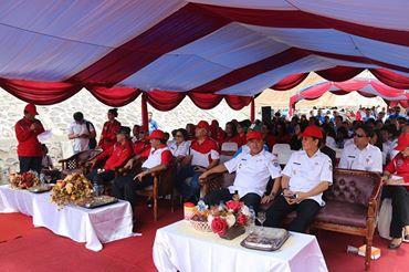GSVL Hadiri Hari Bakti PUPR ke-71 di Interchange Manado Bypass