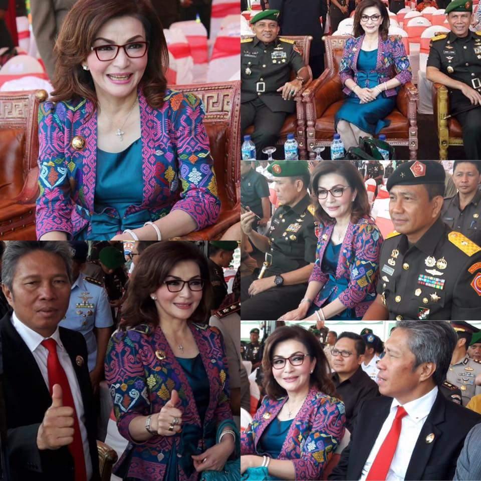 Bupati dan Wabup Minsel Hadiri Peresmian Kodam XIII Merdeka Jaya Sakti di Manado