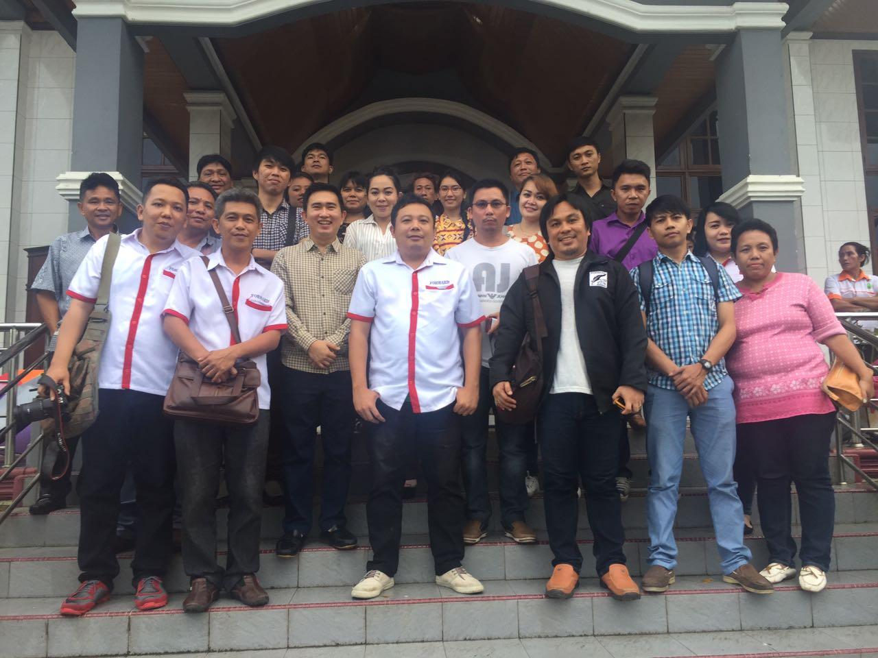 Ibadah Natal Bersama Anak-anak Pemulung, Forward Gandeng KPA GMIM Getsemani Sumompo