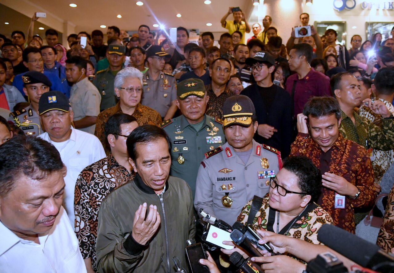 Dari Manado, Presiden Jokowi Sampaikan Selamat Natal Untuk Umat Kristiani di Indonesia