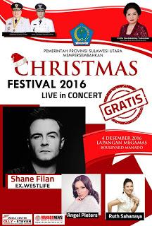Shane Filan Gantikan Air Supply di Christmas Festival 2016