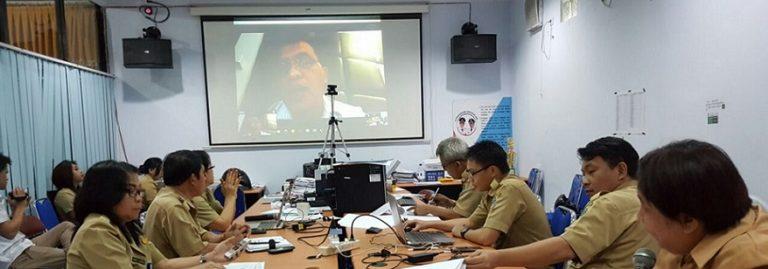 Assa Pimpin Rapat e-Devplan Lewat Teleconference