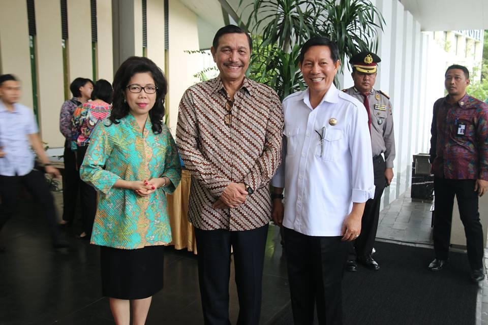 Sejumlah Menteri dan Kapolri Turut Merasakan Suana Kenyamanan Manado