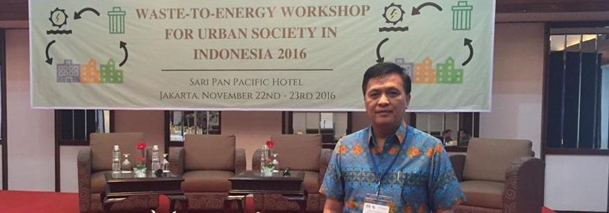 Keban Assa Hadiri Waste to Energy Workshop for Urban Society in Indonesia 2016