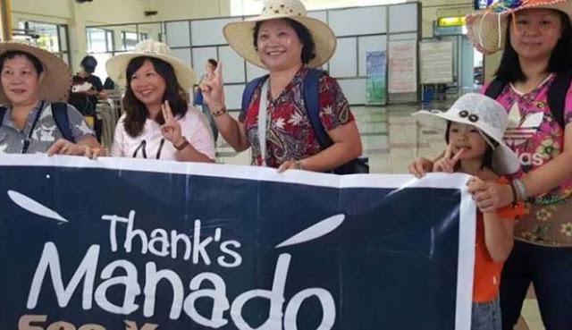 3000 turis Tiongkok diperkirakan habiskan 30 M di Manado