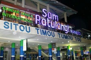 manado, samratulangi Airport