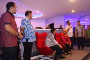 Manado CErdas, Pemkot Manado, Menteri Sosial, Kofifah Indar Parawansa