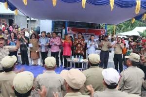 Tagana, Menteri Sosial, Kofifah Indar Parawansa, Walikota Manado, Gubernur Sulut