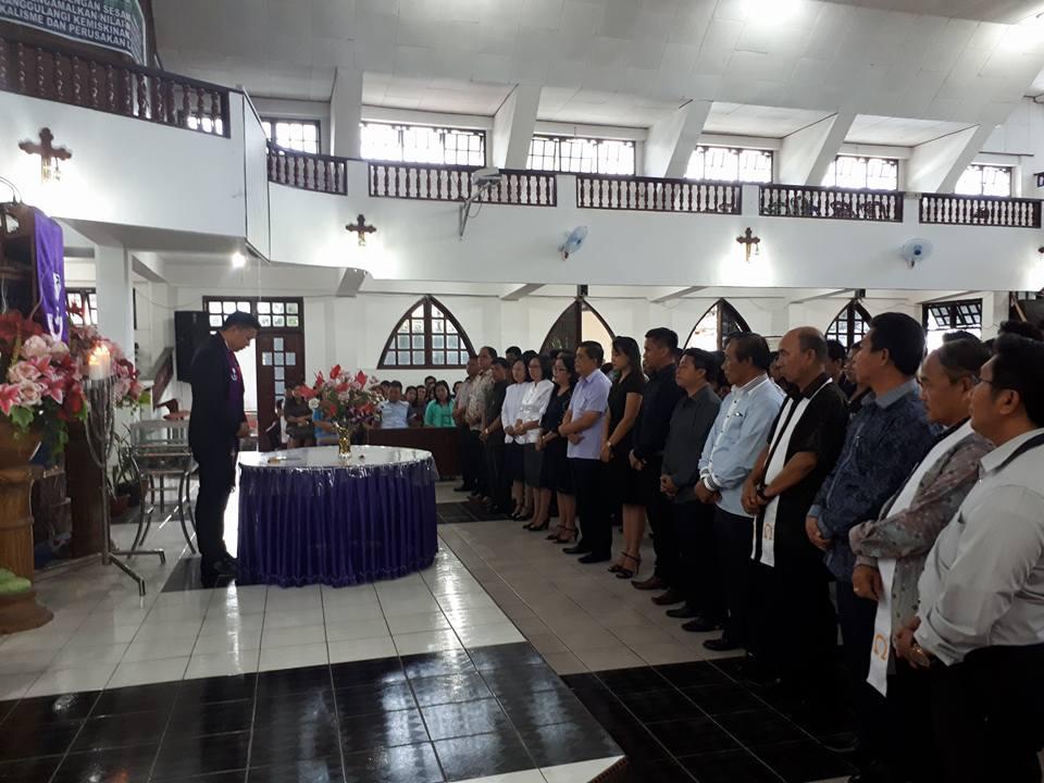 Wilayah Ratahan Tuan dan Nyonya Rumah FSPG, Bupati Sumendap Ketua Panitia