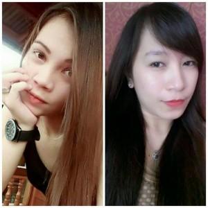 Foto Melisa Wauran dan Rheylani Lembong