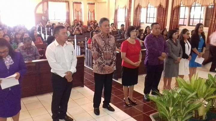 Wabup Minsel Dilantik Ketua Umum Pesparawi KPA Sinode Tahun 2017