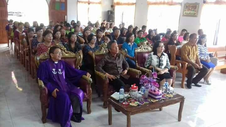 Wabup Minsel Hadiri Kegiatan Lokakarya Alat Peraga Paskah KPA Sinode GMIM di Wiau Lapi
