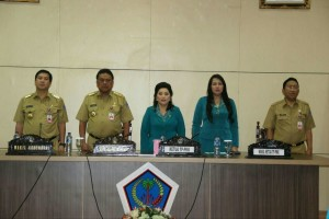 TP-PKK Sulut, Rita Tamuntuan, Olly Dondokambey