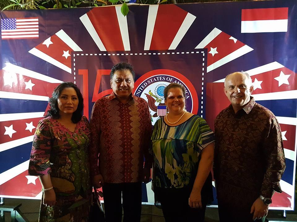Di Depan Dubes AS, Olly Promosikan Wisata Sulut