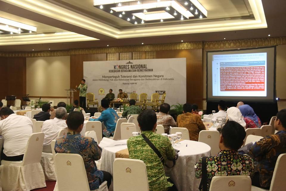 Diundang Komnas HAM, GSVL Presentasikan Model Kerukunan Beragama di Manado