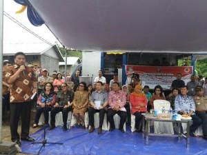 Gubernur SUlut, Olly DOndokambey, Korban Bencana Banjir, Pandu