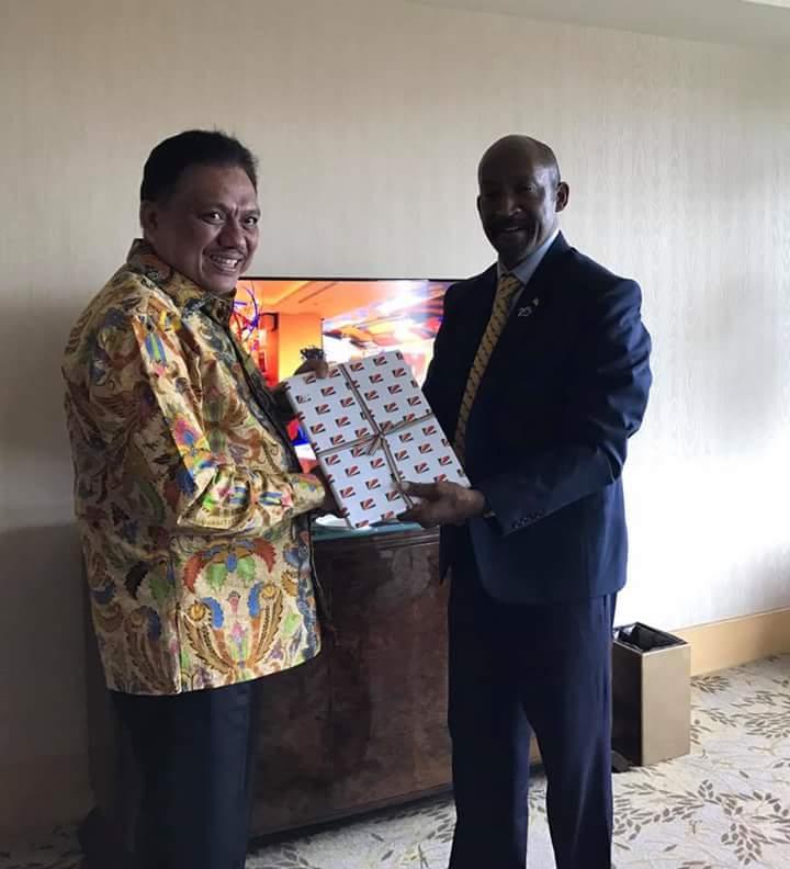 Diundang Breakfast Wapres Republik Seychelles, Olly Paparkan Peluang Investasi di Sulut