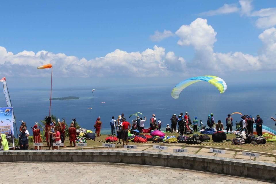 Paragliding Accuracy World Cup Berdampak Terhadap Pariwisata Manado