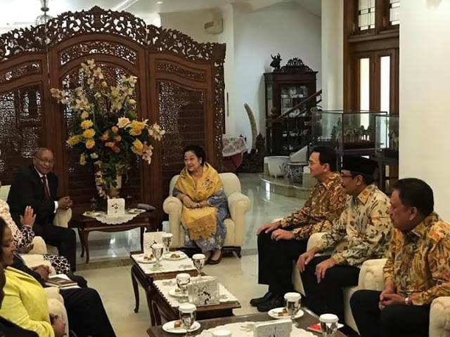 Lawatan Presiden Afrika Selatan di Indonesia, OD Dampingi Mega