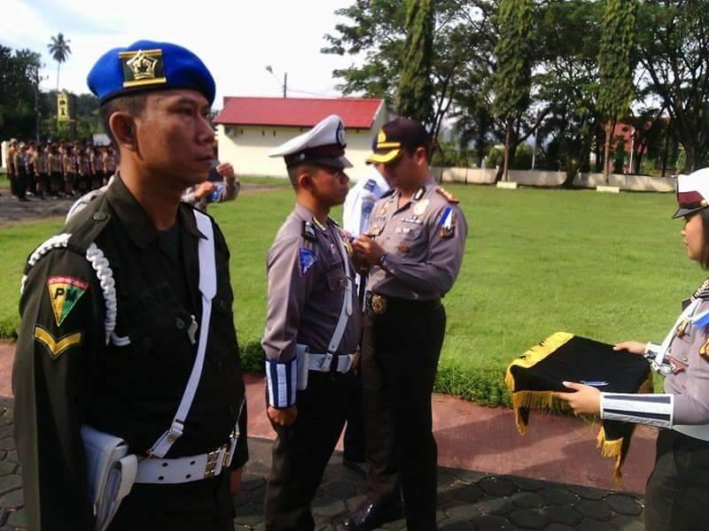 Wongkar Hadiri Gelar Pasukan Operasi Simpatik 2017 di Polres Minsel
