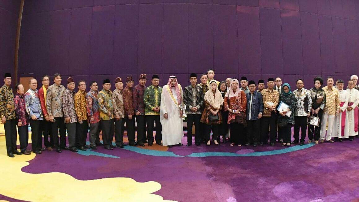 Ini Para Tokoh Lintas Agama yang Berdialog dengan Raja Salman