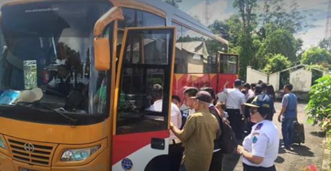 Demo di Manado Berdampak di Minut, Dishub Turunkan 1 Unit Bus Angkut Penumpang