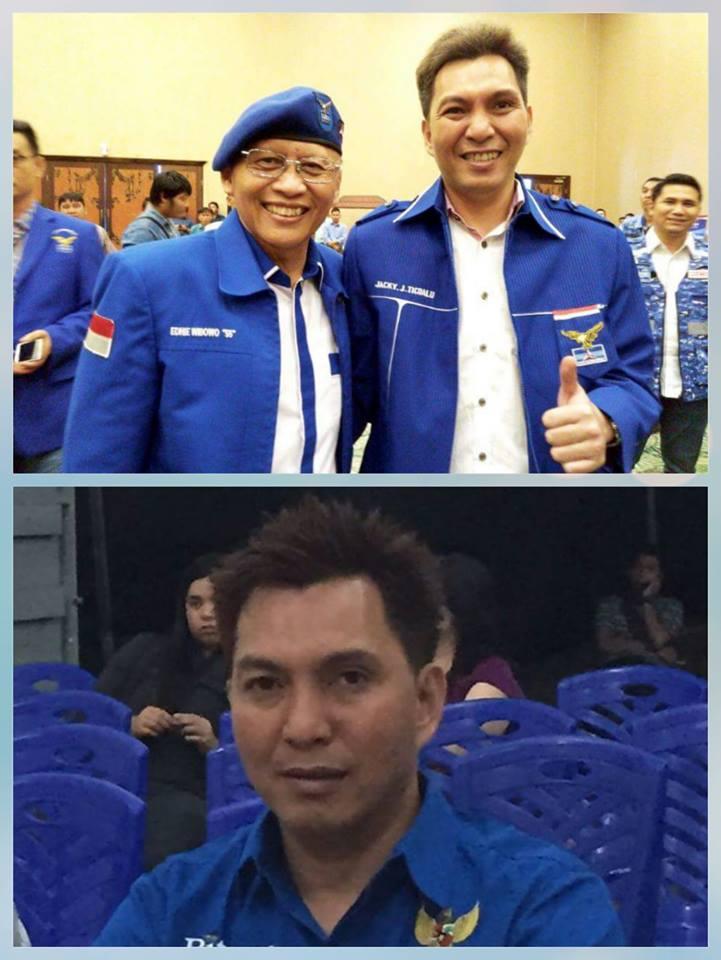 Ticoalu Peluang Kuat Nahkodai Ketua Demokrat Bitung