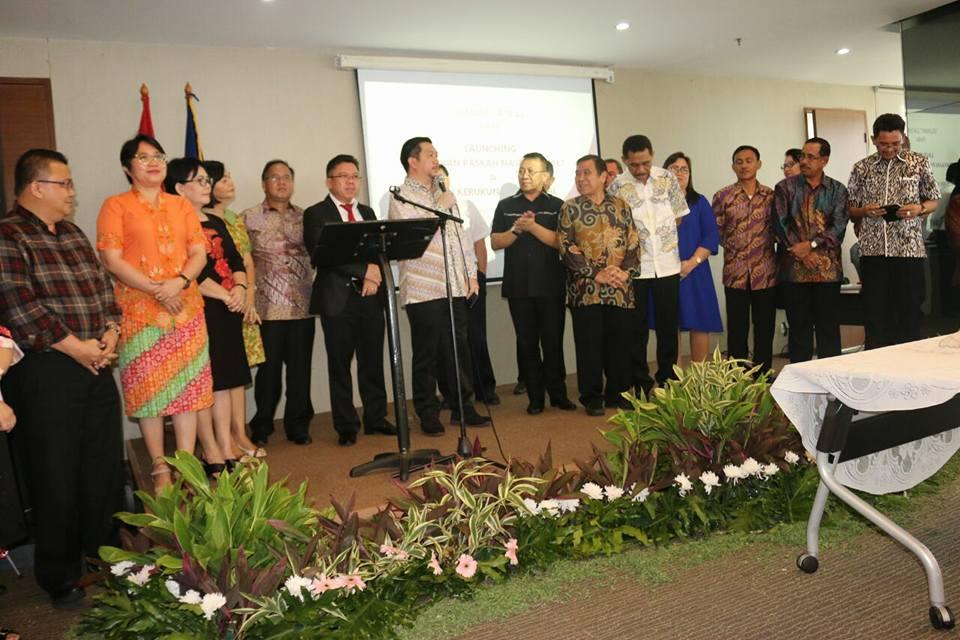 Wawali Mor Hadiri Launching Sulut Tuan Rumah Paskah Nasional 2017
