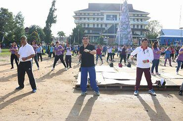 Pemkot Manado Launching Hari Berolahraga