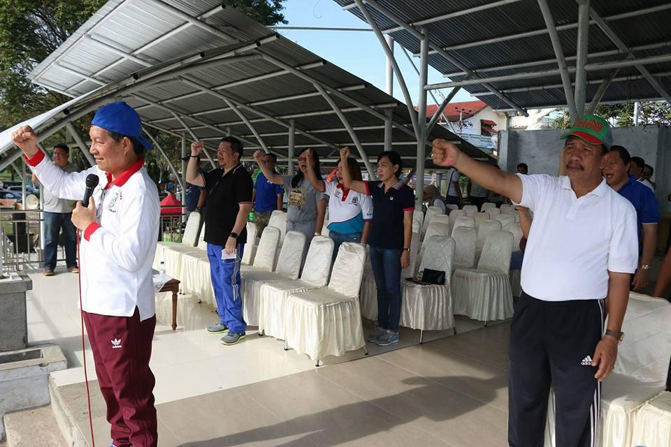 Walikota GSVL Ajak ASN Manado Giat Berolahraga