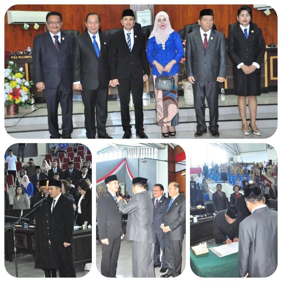 Ramlan Ifran Resmi Jabat Anggota DPRD Bitung