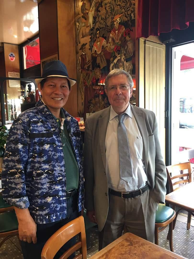Manado Go Internasional Lewat MFF 2017, Walikota GSVL Diskusi Dengan Tokoh Intelektual Perancis