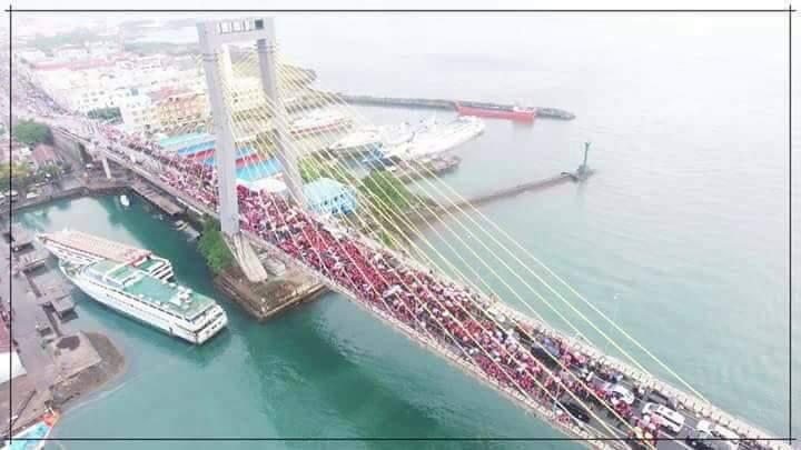 Parade Pancasila di Sulut Sukses, Dibuka Presiden RI ke 5 dan Diikuti Ribuan Partisipan