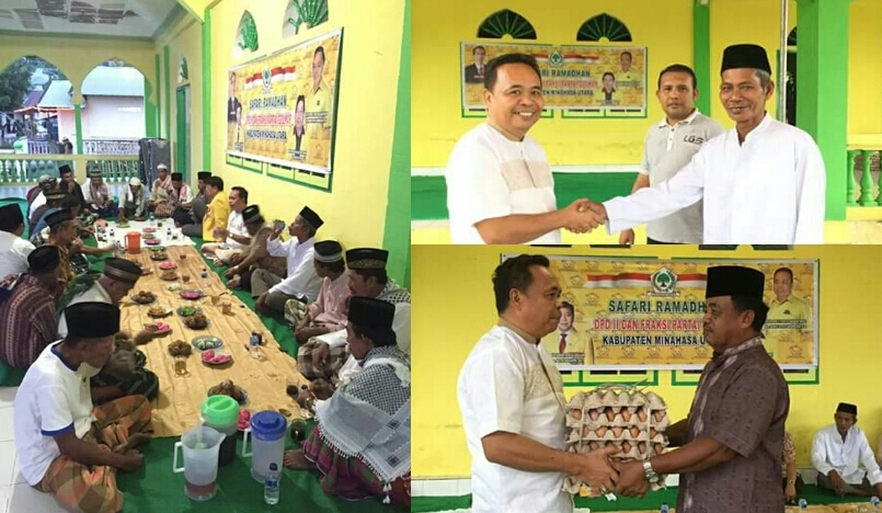 Safari Ramadhan, DeWo: Partai Golkar Lahir Untuk Menjaga Pancasila dan UUD 45
