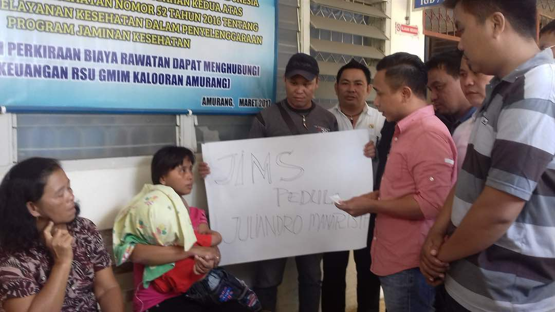 Anak Penderita Hidrosefalus Asal Desa Paslaten Dapat Bantuan Dari JIMS