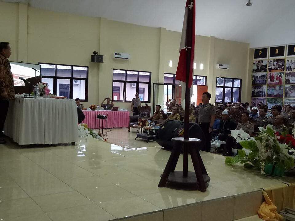Sosialisasi 4 Pilar di Polres Minsel, MPR RI Tekankan Jiwa Kenegarawanan